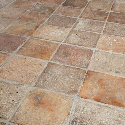 "Antique French terracotta tiles ""Lindenhof"""