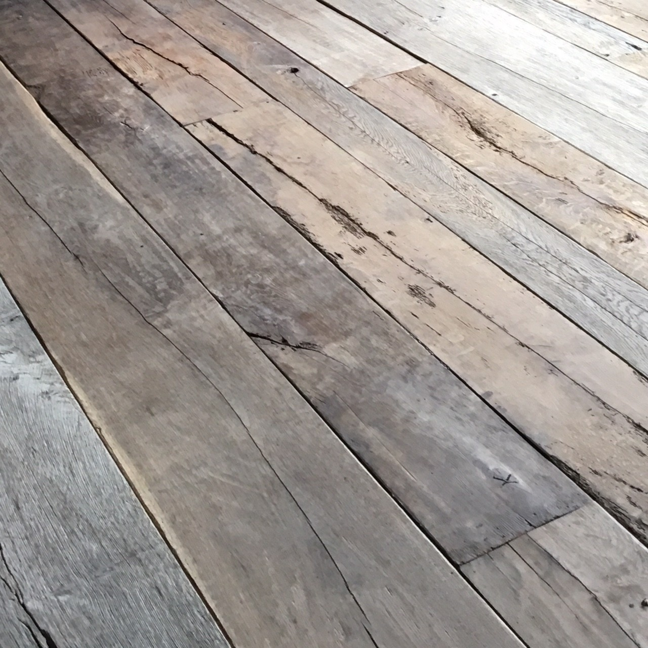 18th century French floorboards