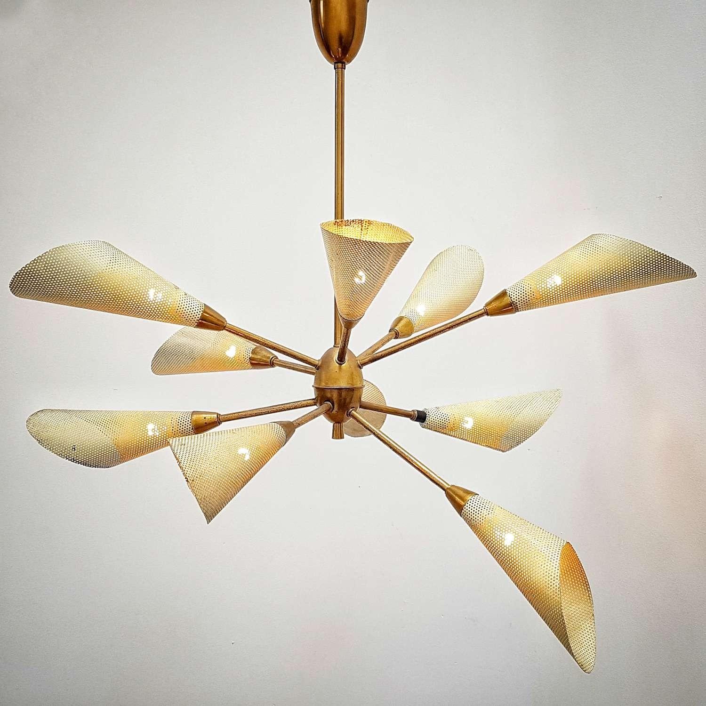Vintage sixties hanging lamp