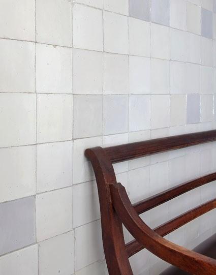"18th century Dutch white tiles or ""witjes"""