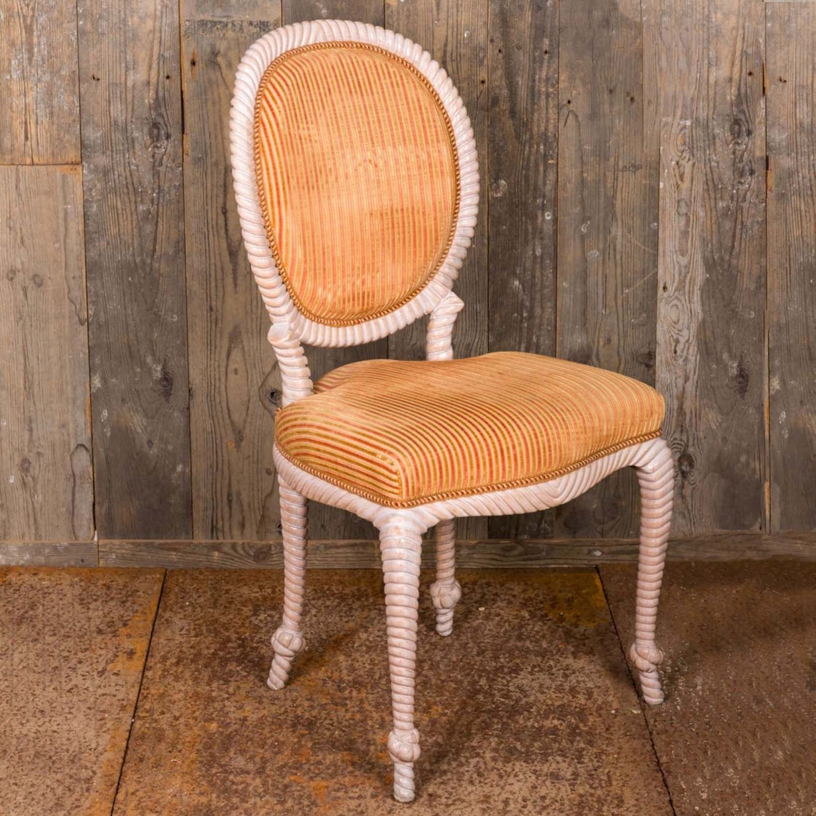 6 old dining room chairs,