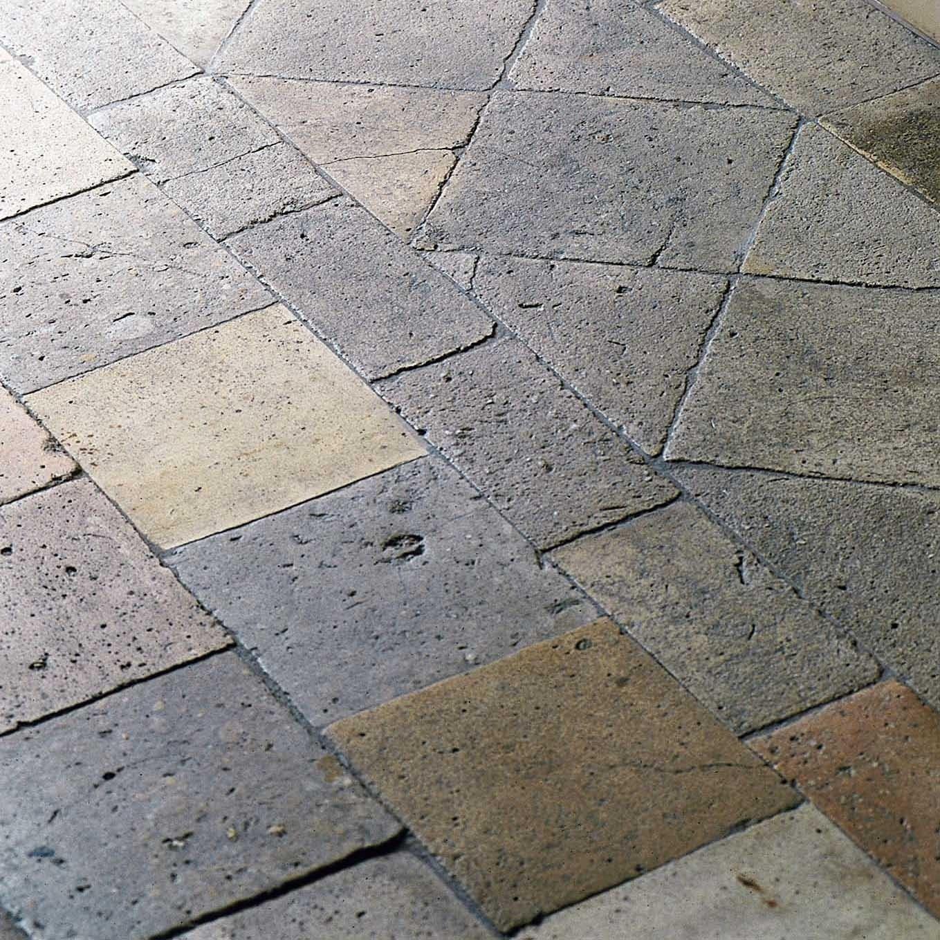 Antique Burgundy terracotta tiles