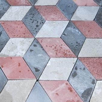 Art Deco cement tiles