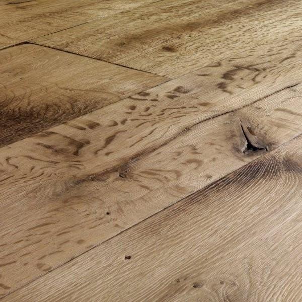 Beautiful light oak floorboards