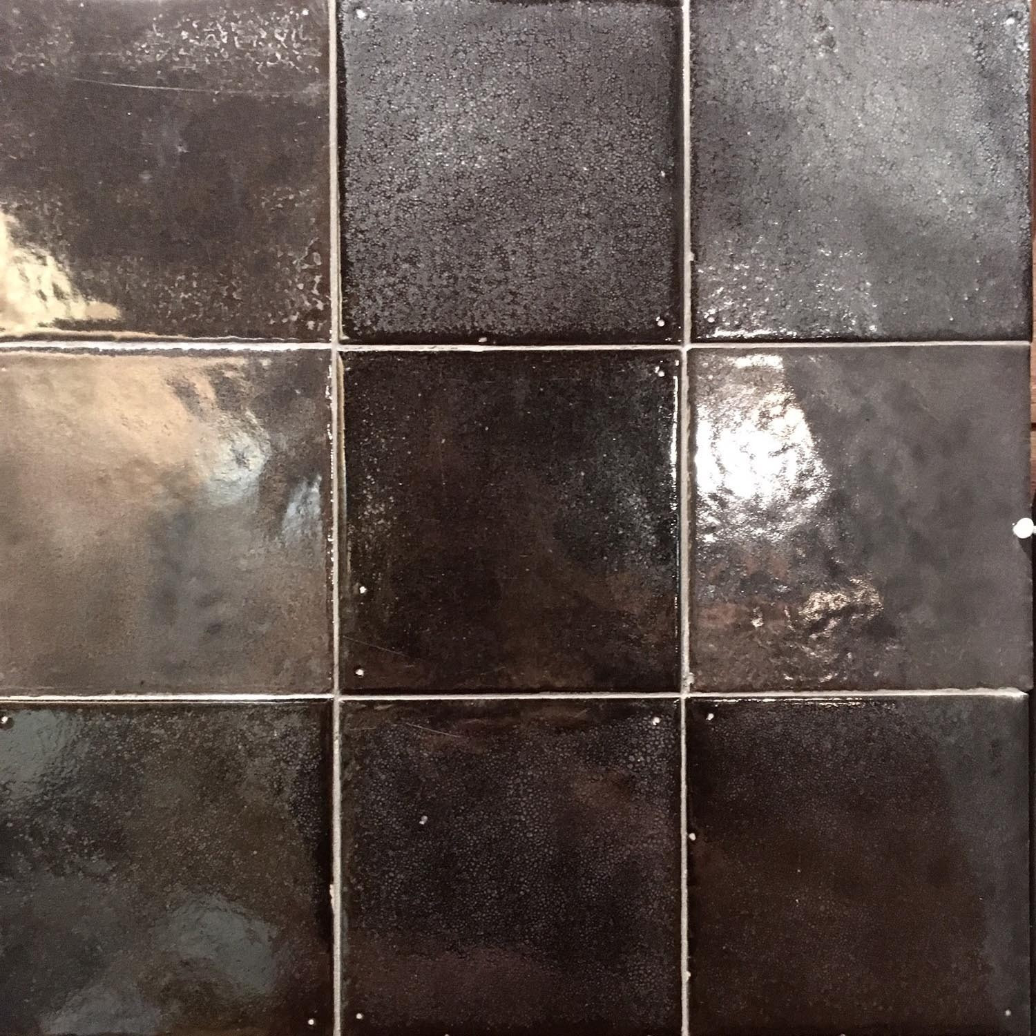 """Caviar Noir"" wall tiles"