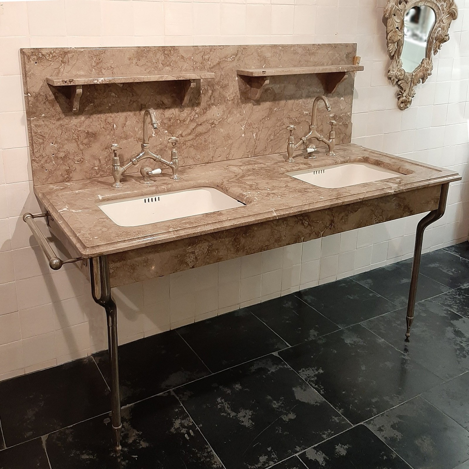 Marble washbasin furniture