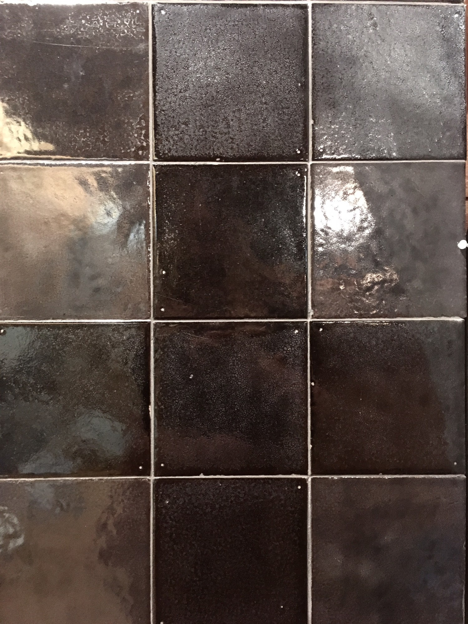 """Caviar Noir"" wall tiles"