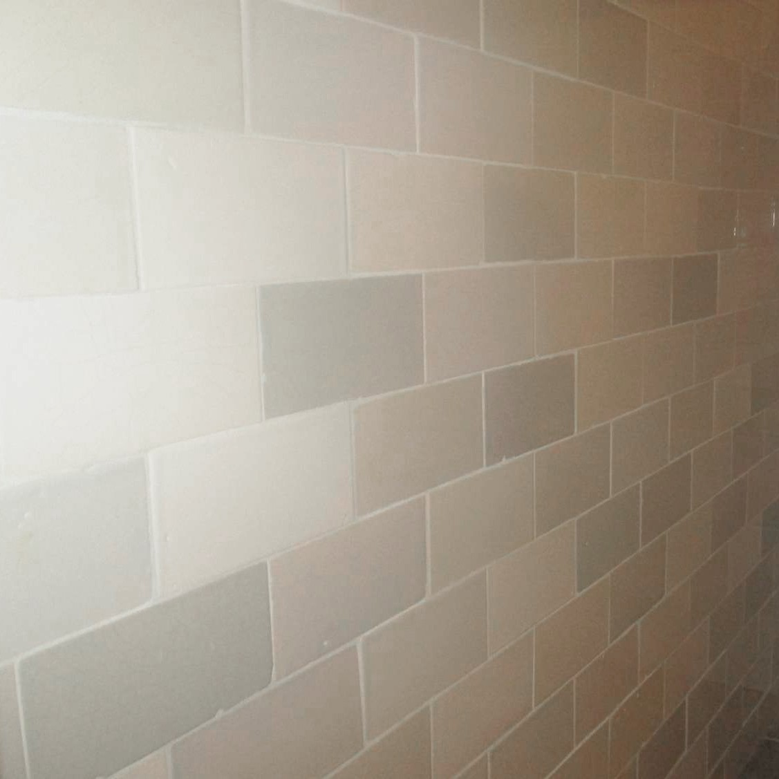 Handmade industrial wall tiles
