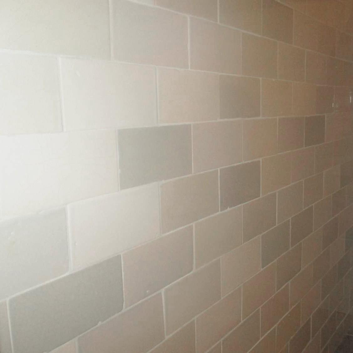 Handmade industrial wall tiles
