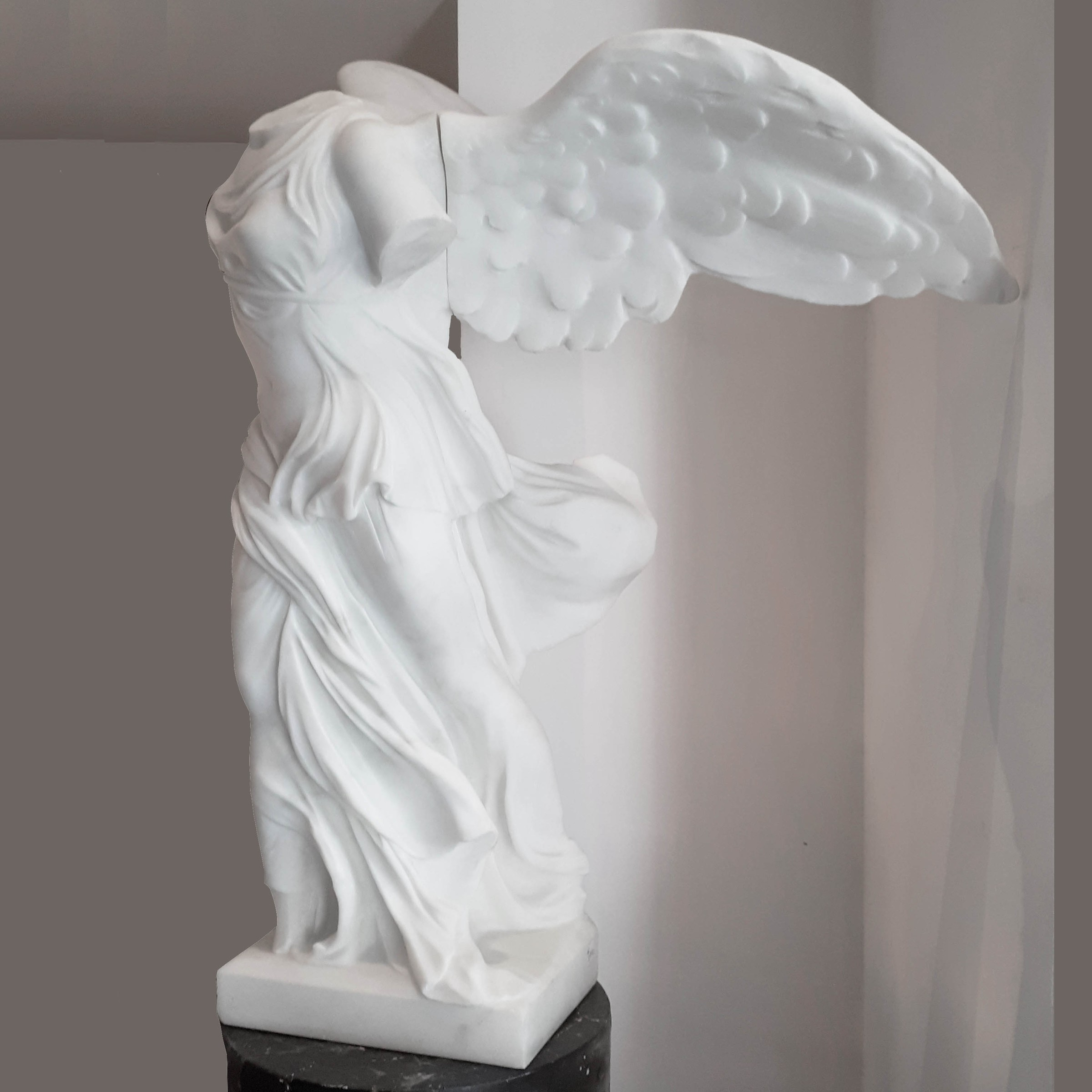 Late 19th century statue of the Winged Victory of Samothrace