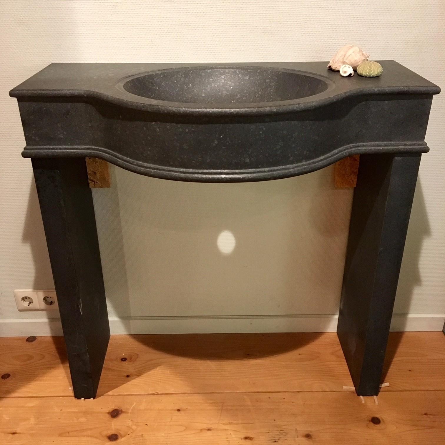 Bluestone washbasin
