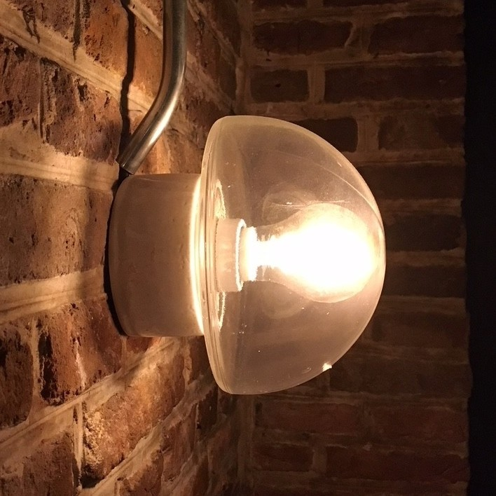 Old factory party wall lamps