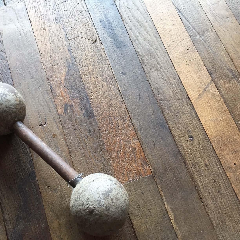 Old oak floor boards NYC loft style