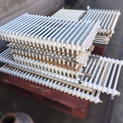Various old radiators