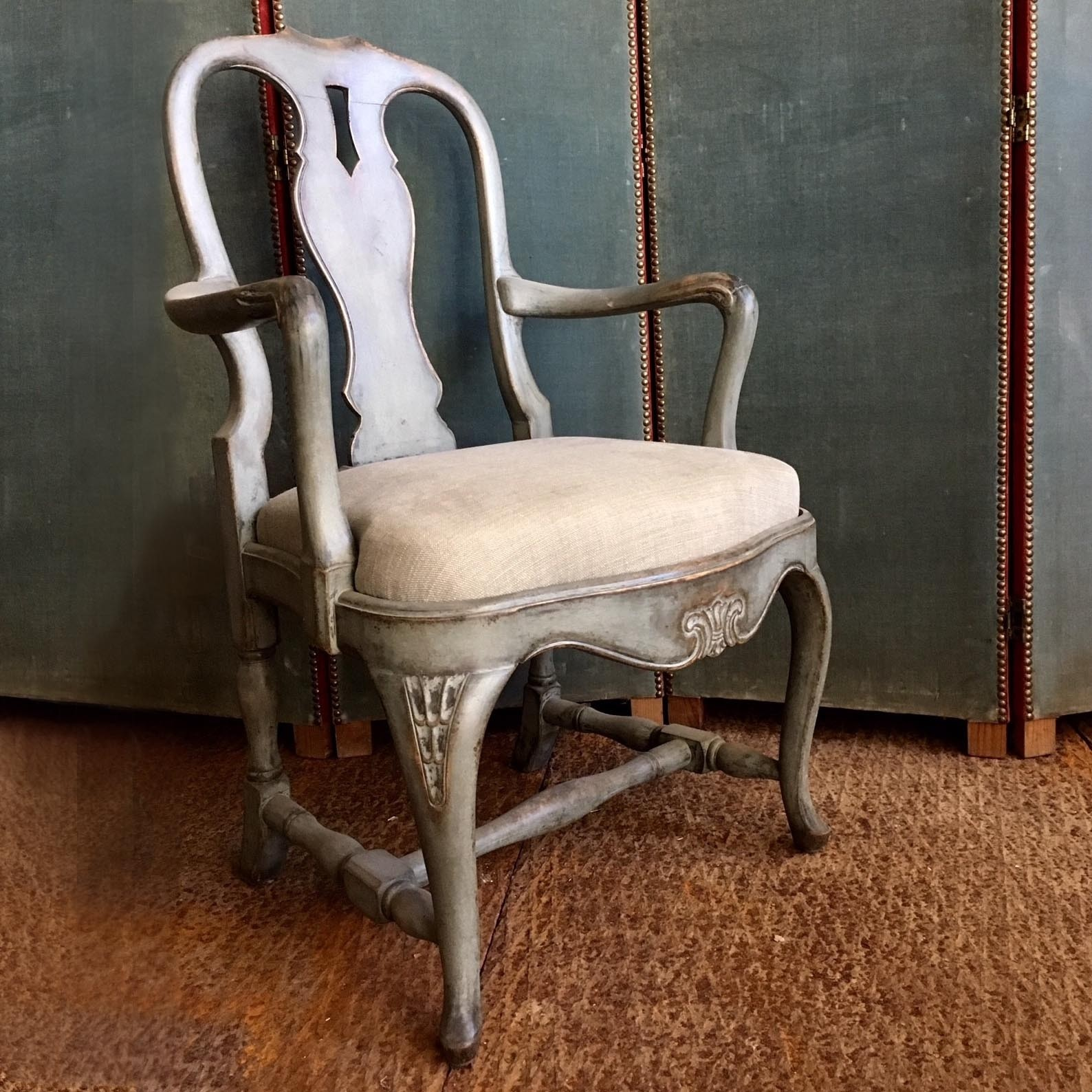 Pair of beautiful old armchairs