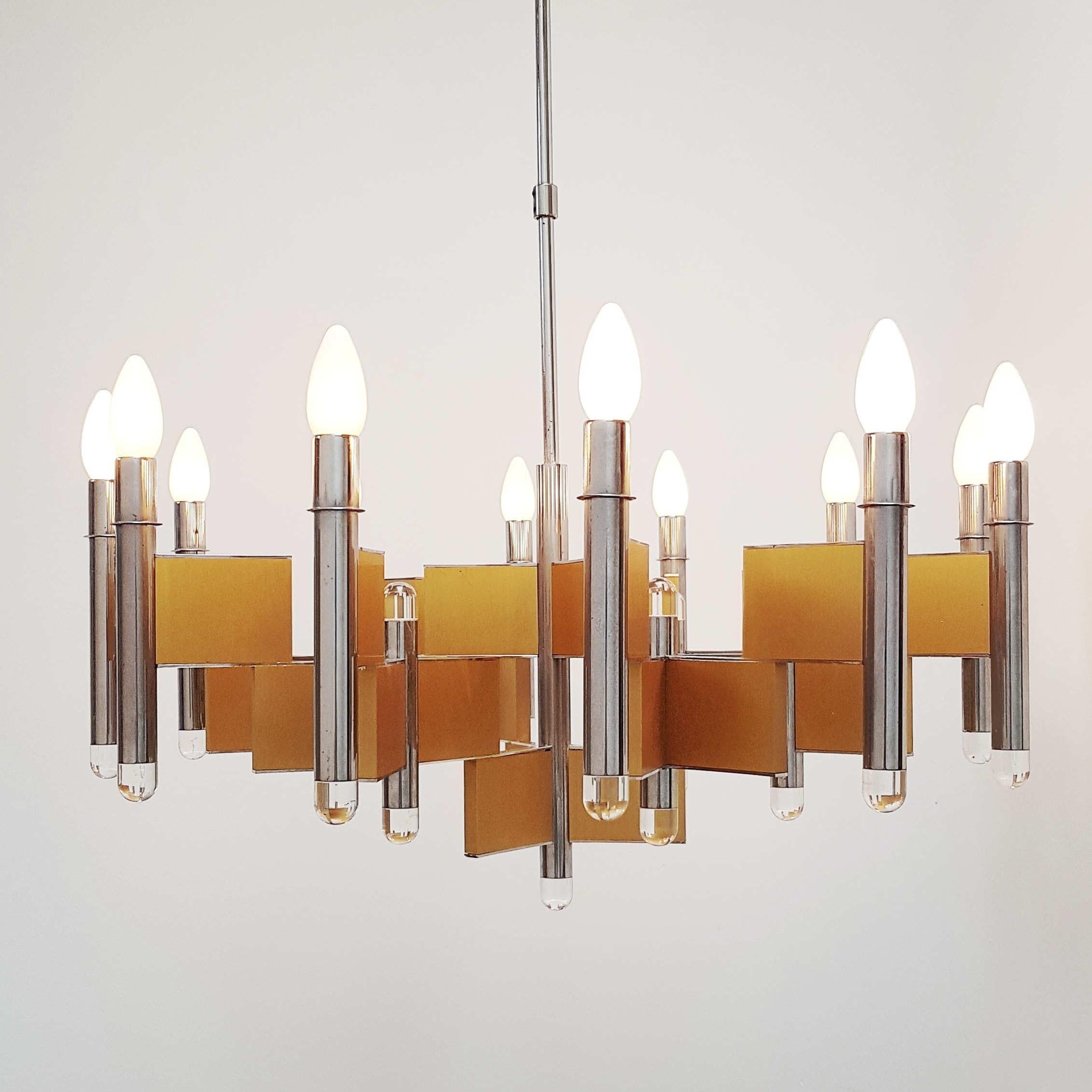 Sciolari chandelier from the 70s