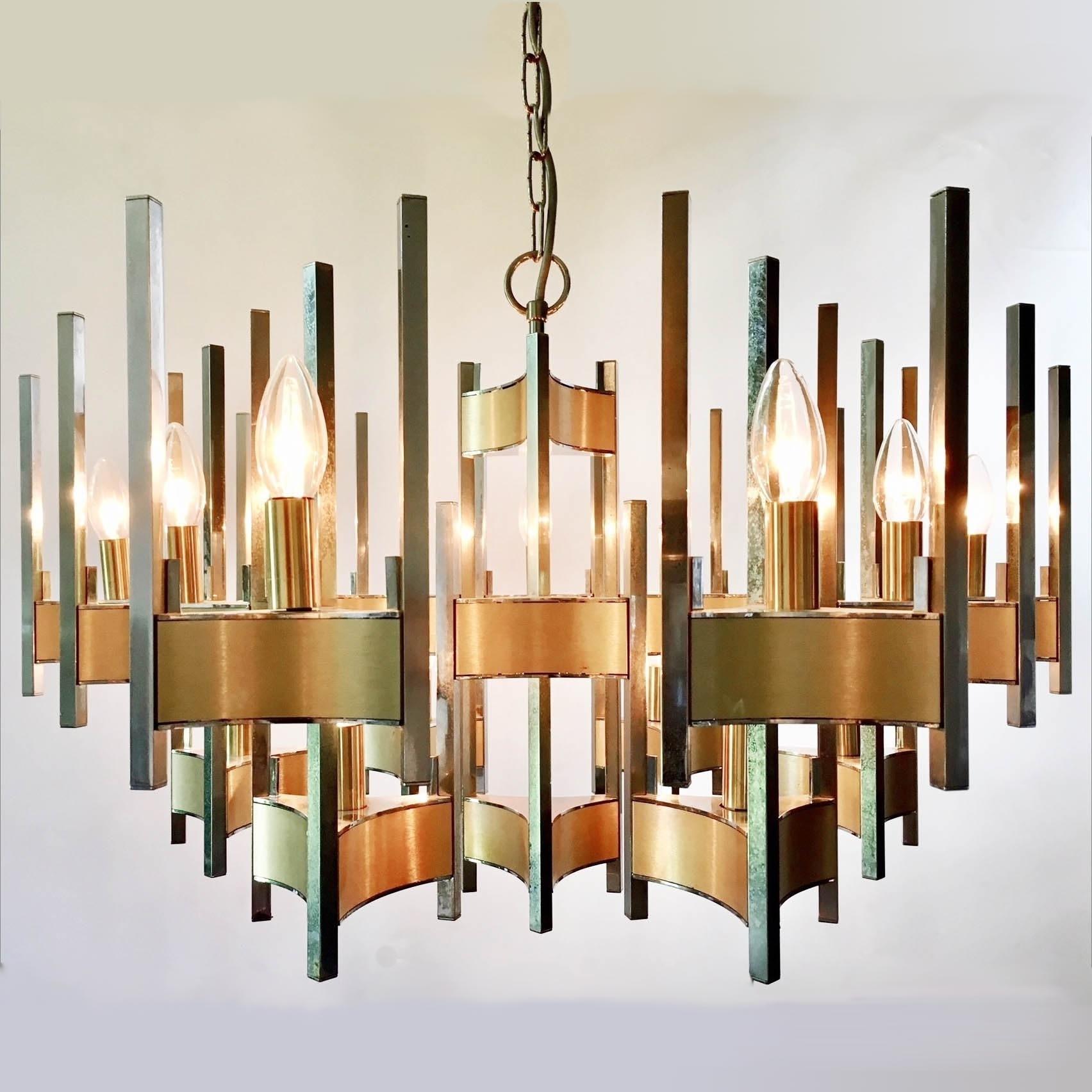 Beautiful Sciolari chandelier from the 70s