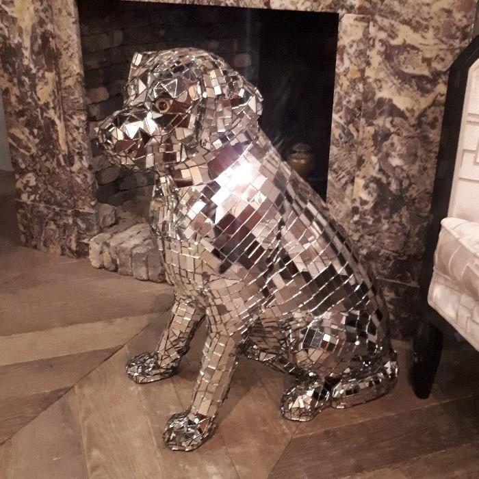 Vintage Disco dog
