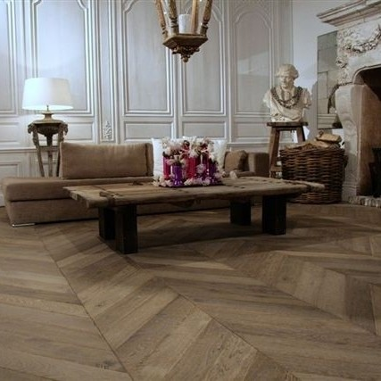 Weathered Hungarian flooring